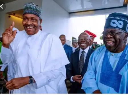 Opinion: Between President Muhammad Buhari And Ahmed Tinubu; Who Is More Fashionable In This Picture.