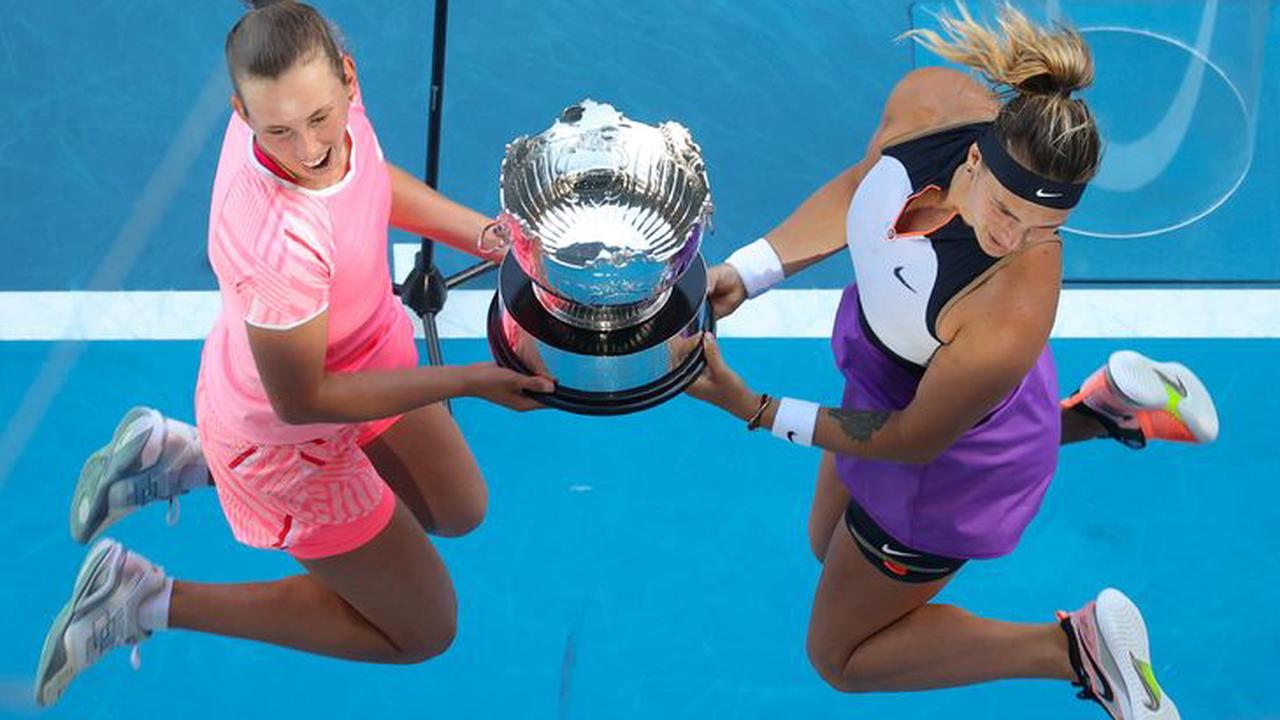 Open d'Australie: Mertens et Sabalenka titrées en double dames