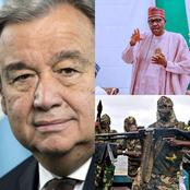 UN Secretary Blows Hot On The Abducted 300 School Girls In Zamfara State! Read What He Just Said