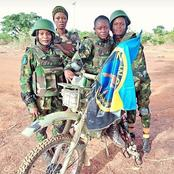 Meet The Beautiful Nigerian Female Soldiers Who Are Fighting Boko Haram In The North East.
