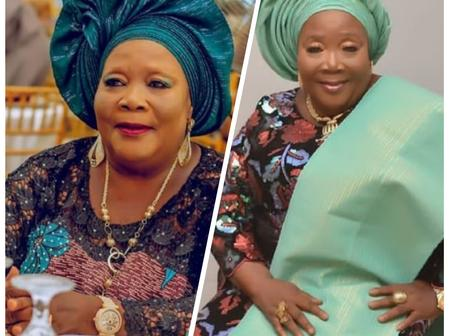 Check Out The Stunning Pictures Veteran Actress Mama Ereko Used To Celebrate Her 75th Birthday.
