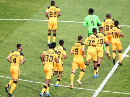 Kaizer chiefs Traveling Squad To Guinea.