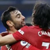 This Is What Cavani Told Fernandes To Do That Made Him Score The Free Kick