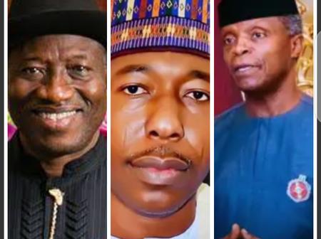 Today's Headline: Goodluck Jonathan Make Fresh Statement, Osinbajo Decorates New IGP