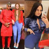 See how beautiful IK Ogbonna's ex wife, Sonia Morales look in these photos