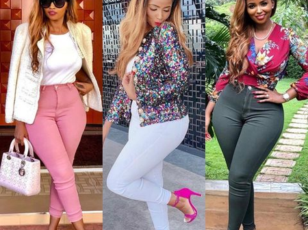Anerlisa Muigai Sets The Internet Ablaze With Her Recent Outfits (Photos)