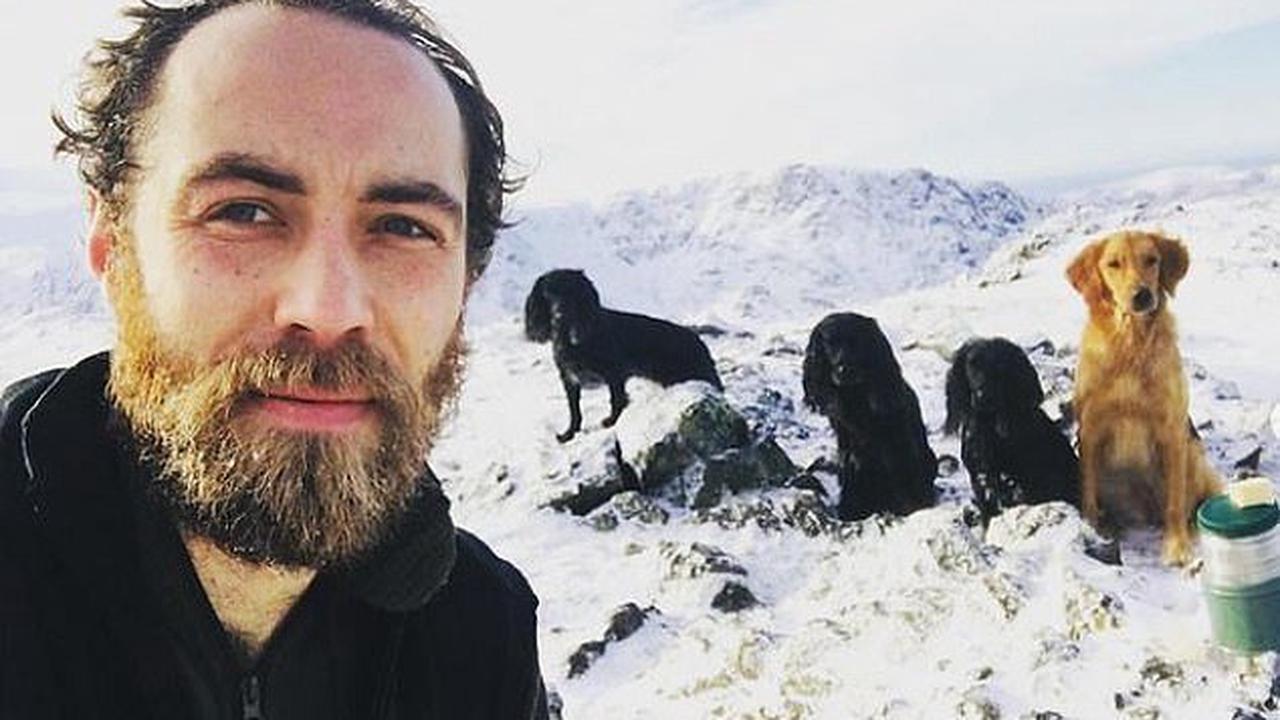 James Middleton shared pictures taken shortly after depression diagnosis