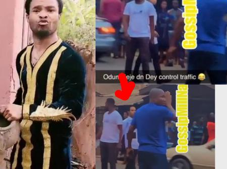 Video: See What Pastor Odumeje Was Spotted Doing In Broad Daylight That Sparked Reactions Today