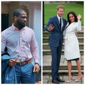 Peter Okoye Reacts to a Tweet That Compared Prince Harry's Saga to That of Himself, and His Wife