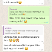 After Seeing WhatsApp Chat Between Her Husband And House Girl, Woman Became Very Happy (Fiction)