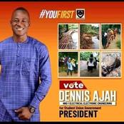 Joy as Ajah Dennis won the student Union Government (SUG) Election in Akanu Ibiam Polytechnic Unwana