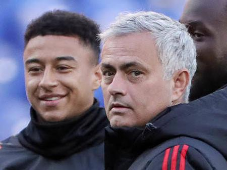 Jose Mourinho Wants Lingard At Tottenham, As The Ex United Boss Eyes A Reunion With The England Star