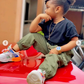 Boss Lady - Meet the cute little girl who is the ambassador of kids collection (see photos)