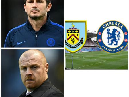 Opinion: See 4 Things That Might Happen In Today's Match Between Chelsea And Burnley