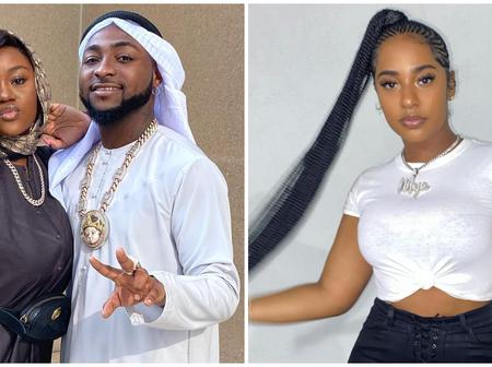 See what Davido was caught doing with Mya Yafia