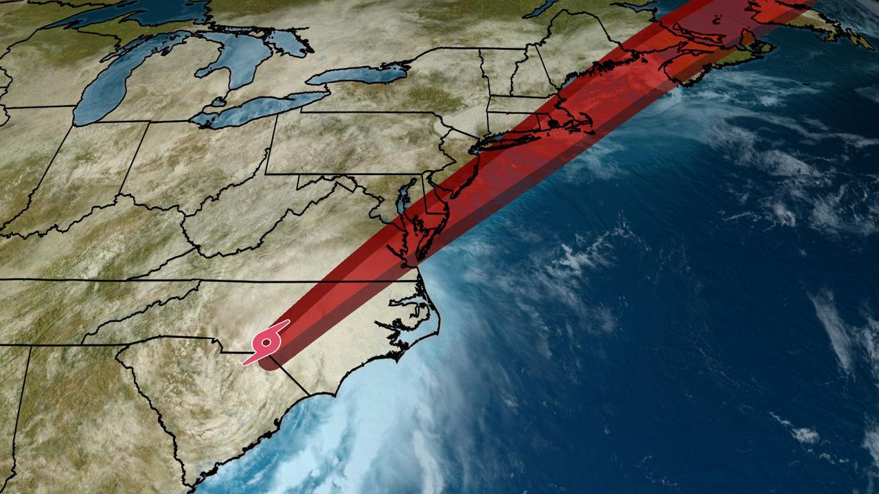 Elsa Spreading Heavy Rain Into the Mid-Atlantic; Tropical Storm Warnings Extend Into the Northeast