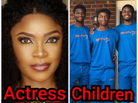 Meet The Children Of 4 Popular Nollywood Actors And Actresses Who Have Been Married For A Long Time