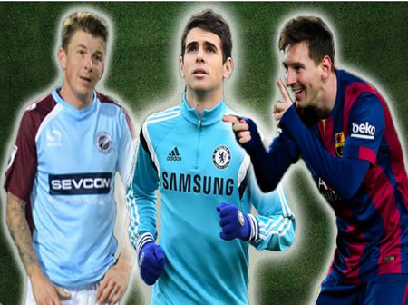 10 Famous Footballers Who Look Younger Than Their Age At Some Point