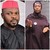 Reactions as Aisha Yesufu questions man who said cooking was given to women by God