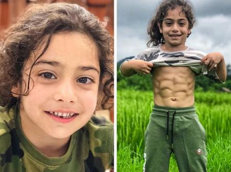 A Boy Achieved a Superman Physique at 6 Years Old to Make His Biggest Dream Come True