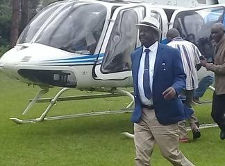 Revealed: Exact Time That Raila Landed in Kenya
