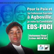 Agboville / législatives : sans fanfaronnade, Fleur Aké M'Bo séduit tout Agboville