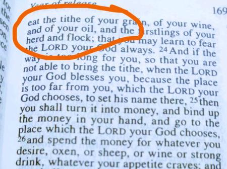 Stop Giving Your Tithe To Men Of God, See The True Instructions The Bible Gave On Tithing