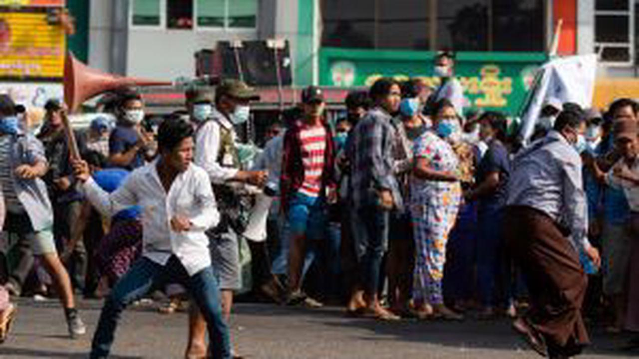 Myanmar protesters injured as police escalate use of force