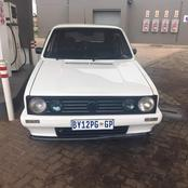 Andile: Please help me find my car it was stolen in Witbank, if you see it call me.