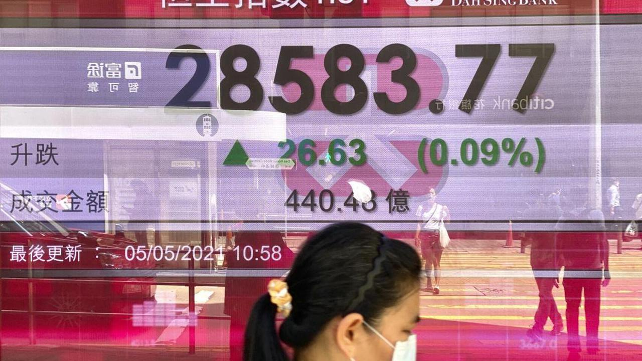 Hong Kong stocks end week lower as tech shares retreat on Sino-West tensions