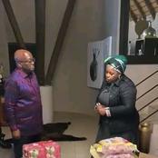 Here's why Dudu Myeni donated food to Jacob Zuma