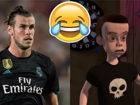 Check out these funny Photos of 12 famous Footballers and their cartoon look-alikes