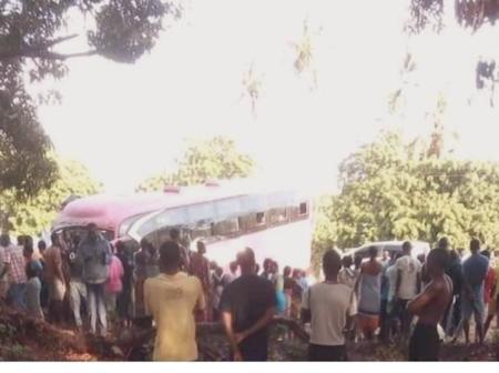 RIP:  A Bus Collides Head On With A Matatu Killing 15