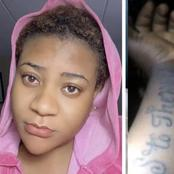 Nkechi Blessing Apologises To Fan Who Tattooed Her Name On Her Skin