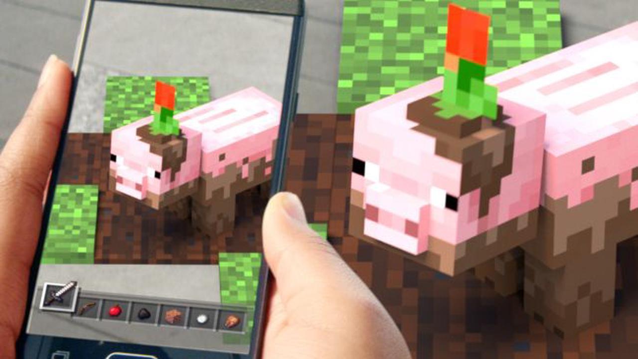 Minecraft Earth sera abandonné le 30 juin prochain