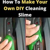 How To Make Your Own DIY Cleaning Slime