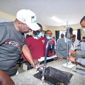 'Weka Thermometer Ndani' William Ruto Excites Hustler Nation With His Knowledge In Chemistry