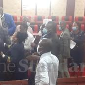 Nyamira County MCAs Exchange Blows And Kicks in The Chamber