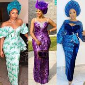 Classy Aso Ebi Styles For Ladies Who Want To Look Beautiful