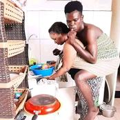 Is This Love Or Stupidity? See The Photo A Guy Shared On Facebook That Got People Talking