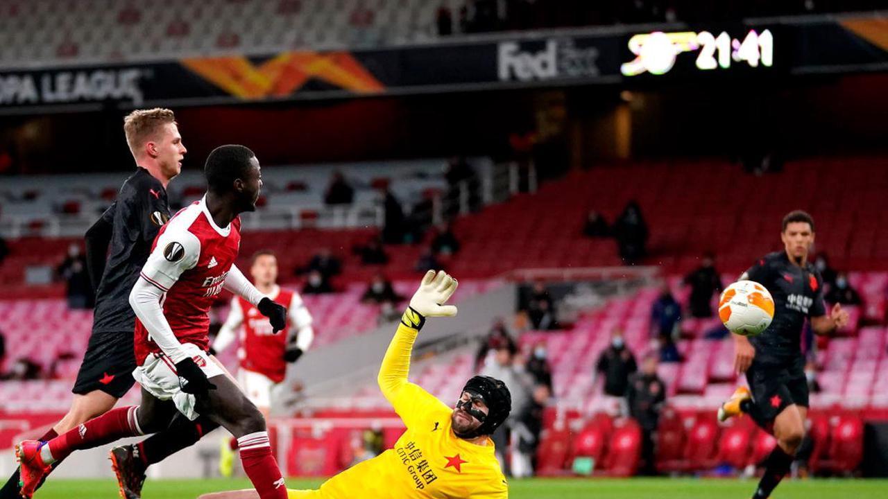 Slavia Prague snatch last-gasp equaliser as Arsenal left frustrated at the Emirates