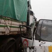 Panic As a Matatu Driver is Trapped Under a Trailer After a Tragic Accident in Nairobi
