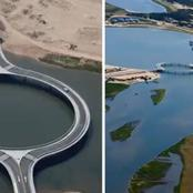 Why this circular bridge was built