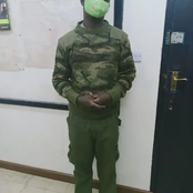 Detectives in Langata Arrest a Man Who Disguised as Police Officer, Says he Conducted Night Patrols