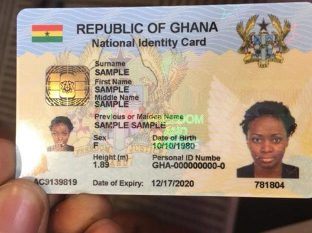Good News: All National ID Numbers Now Tax Identification Numbers - Akuffo Addo.