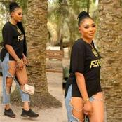Photos Of A Lady Dressed Up For An Event Causes A Stir On Social Media