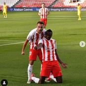 Sadiq Knocks On Super Eagles Door, Nets Brace On Copa del Rey Debut For Almeria