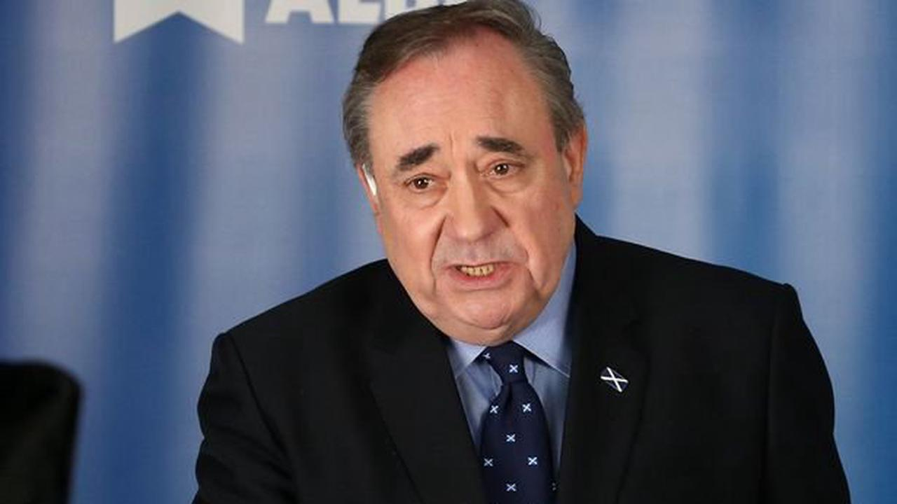 """Alex Salmond criticises Lorna Slater on indy and refers to her as """"green lady"""""""