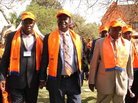 ODM Withdraws From Race To Support Jubilee