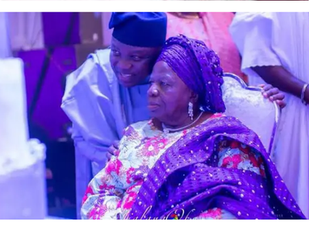 Meet The Vibrant Mother And Siblings Of The Former Governor Of Lagos State, Akinwunmi Ambode